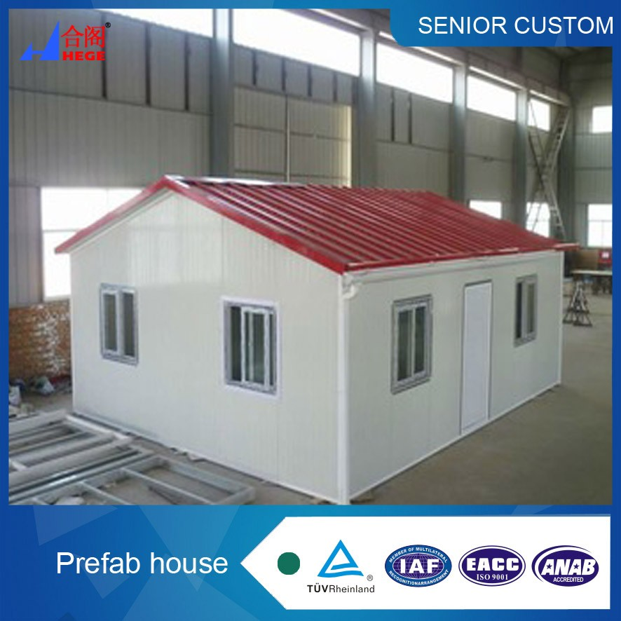 prefab house China Low Cost house with high quality