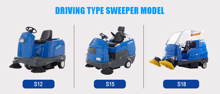 S12 Hot product power wheel sweeper with discounting