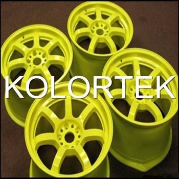 Neon Yellow Powder Coating Fluorescent Pigment For Powder #0: Neon yellow powder coating fluorescent pigment for 350x350