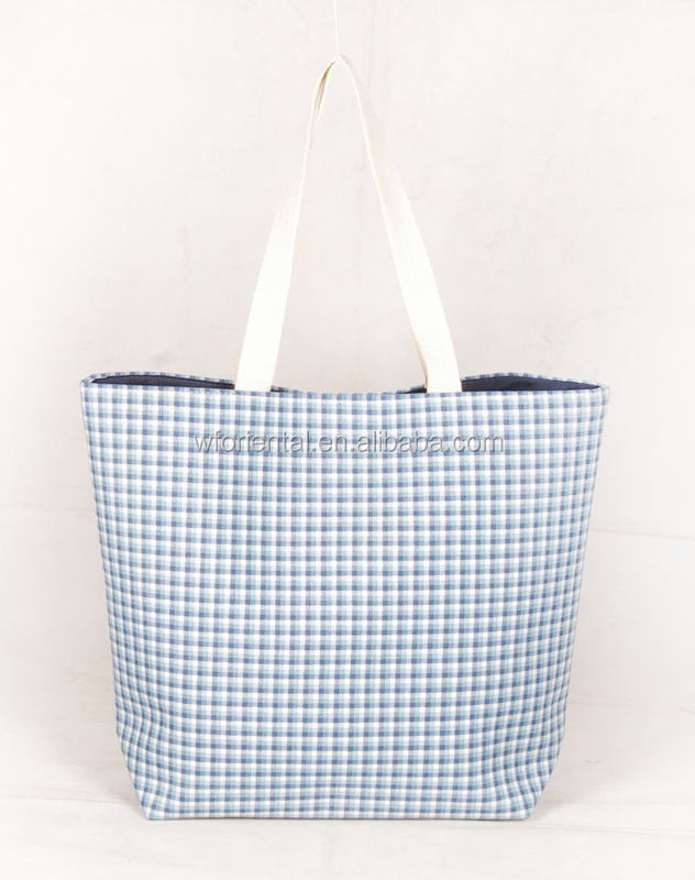 Eco-friendly material wholesale rope handle tote bag