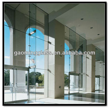 Spider Glass Curtain Wall System From Engineer Company With Technical  Support - Buy Bullet Proof Curtain Wall System,Interior Glass Railing