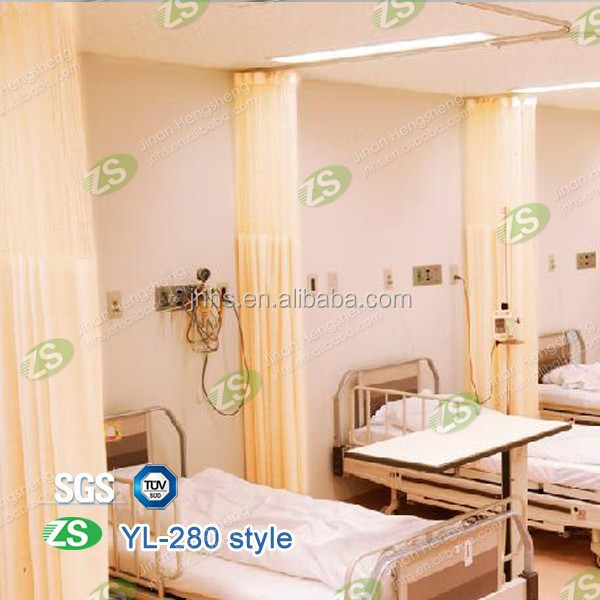 Yarn Dyed Pattern and 100% Polyester Material hospital disposable curtain