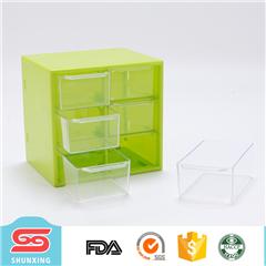 Desktop storage ruimte plastic make up organizer met 12 compartiment