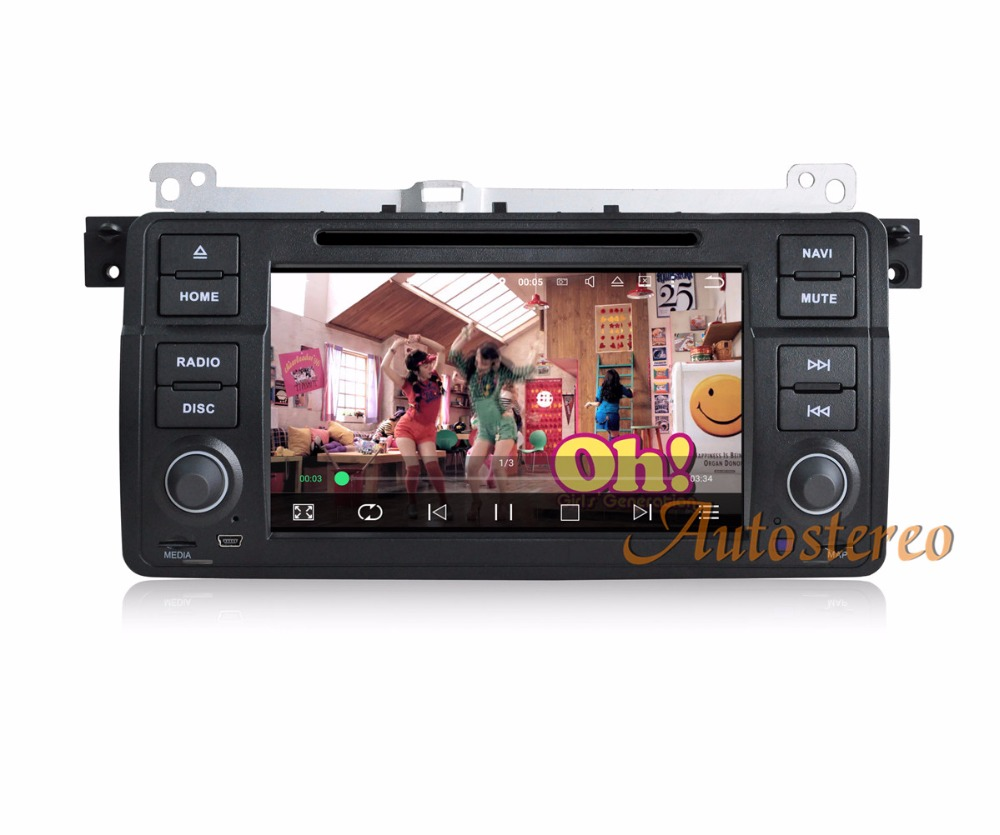 Quad-Core Android 5.1 Car Audio headunit ForBMW 3 E46 M3 1998-2006 GPS navigation system car dvd player SAT NAVI video system