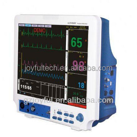 Capnography etco2 multi parameter patient monitor