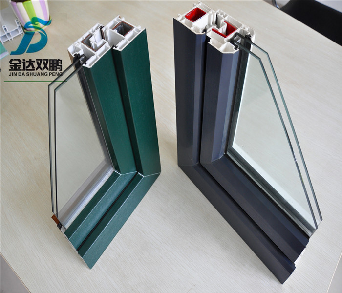 Co Extrusion Pvc Window Profile Good Selling In India