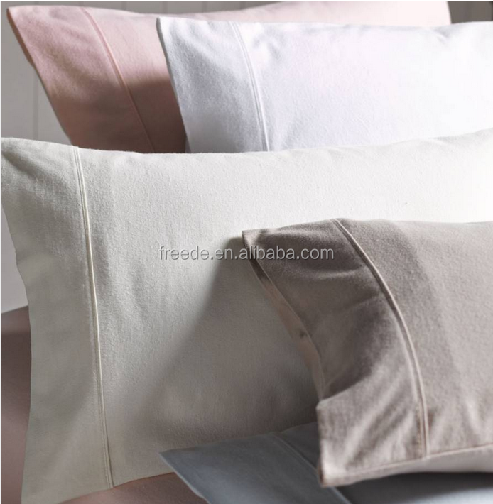 100% cotton flannelette plain dyed brush cotton sheet sets