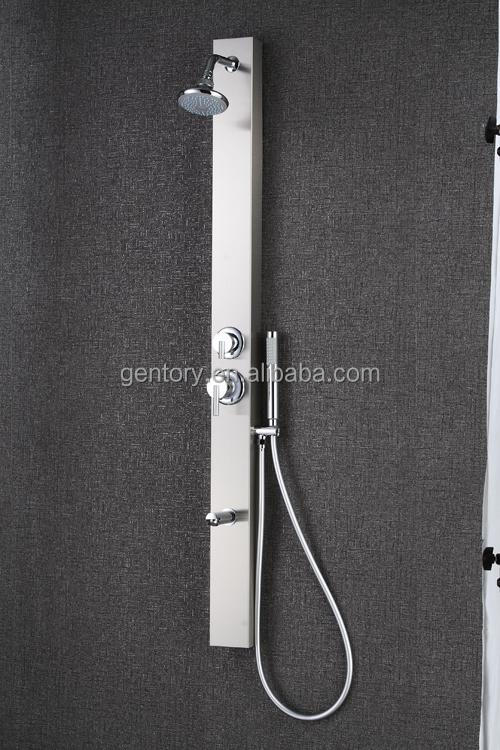 Easy Setting Slim Design Stainless Steel shower panel Panel - S019