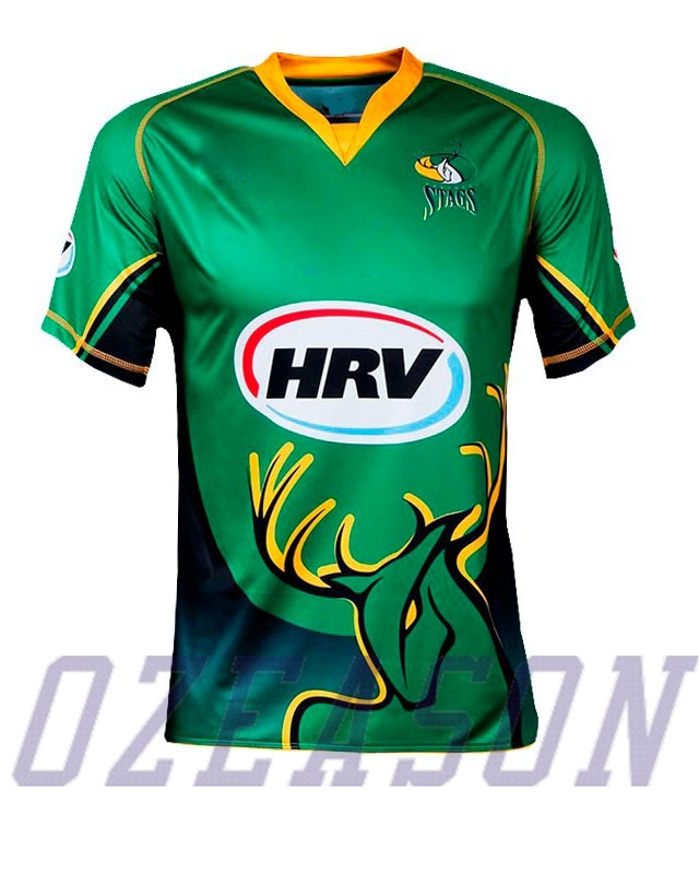2016 Digital Printing Black New Design Cricket Jersey