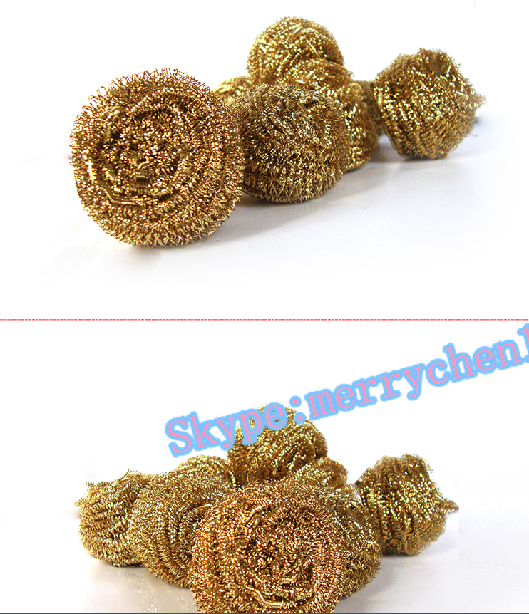 galvanized/stainless/iron kitchen cleaning scourer in kitchen usage