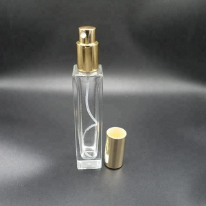 Great shape square perfume bottle with spray bottle 30ml 50ml 100ml