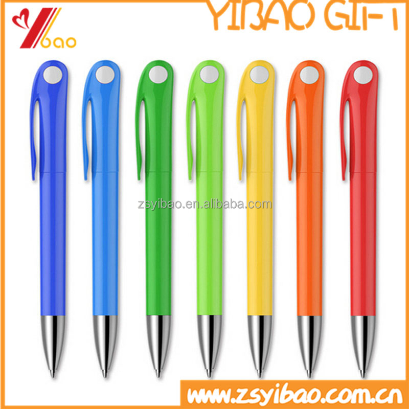 Wholesale cheap custom novelty printing and colorful ball point pens for promotion