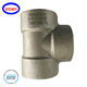 3000LB ASTM A105 High Pressure Forged Fittings Equal Tee