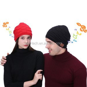 Hot warm winter hat Bluetooth music popular in Europe and the United States knitted hat