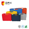 Customizd color beauty case plastic tool case with handle