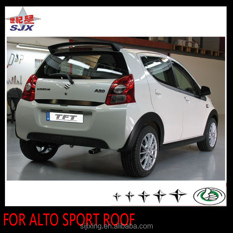 Abs Car Rear Spoiler For Alto Sport Roof Without Led Lamp Auto Rear Wing    Buy Car Rear Spoiler For Alto,Abs Auto Rear Wing Product On Alibaba.com