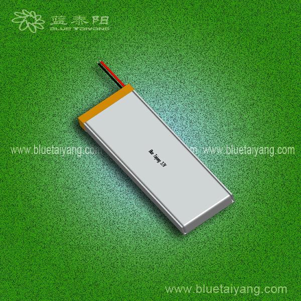 2100mAh li-ion battery 3.7v with 802990