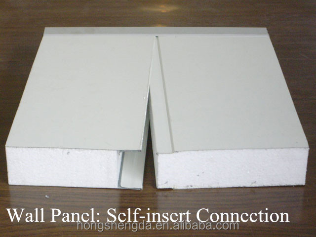 Low cost light weight color steel foam panel / wall panel construction materials