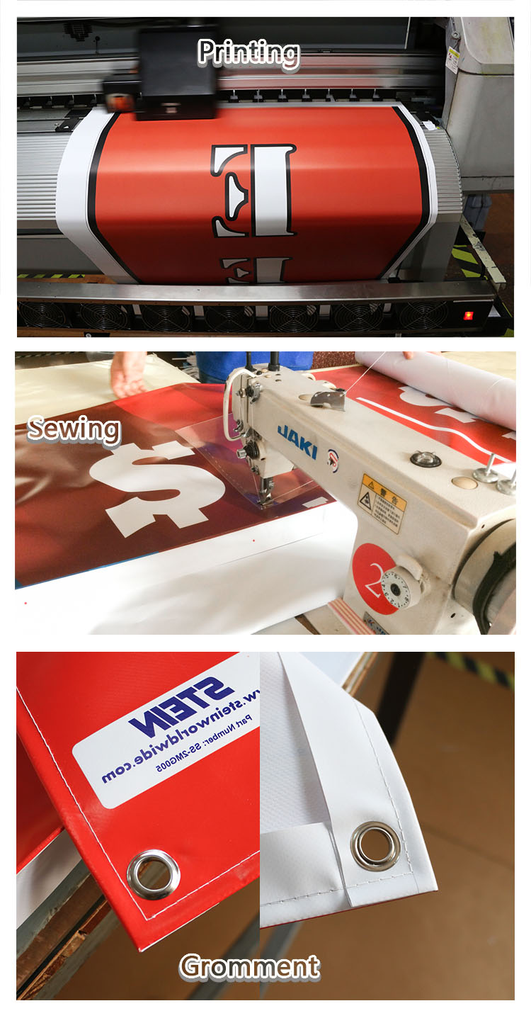 Long-term Use Wide Large Format Printed Billboard Banner For Outdoor Advertising