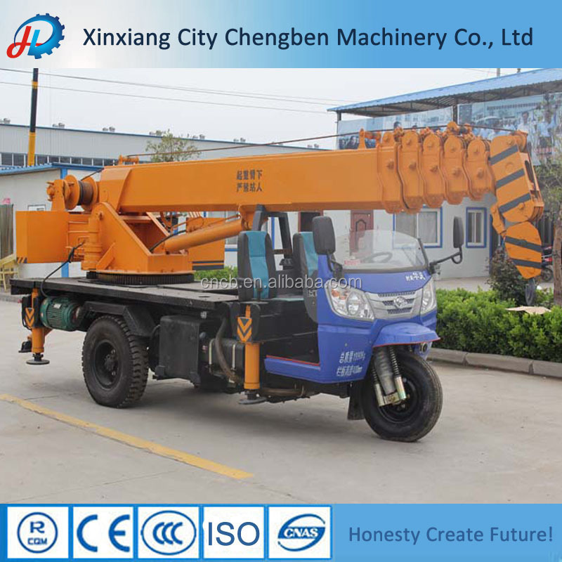 Top Quality Shifeng/T-King/Dongfeng Truck Chassis Tricycle Crane for Sales with Best Prices