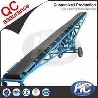 2017 new product troughed belt conveyor / conveyor belt equipment for heavy mining