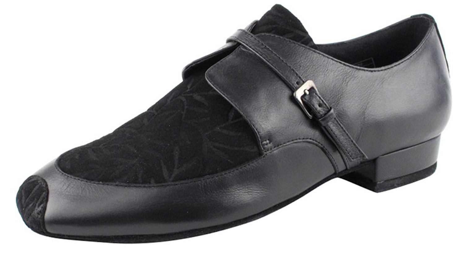 Very Fine Shoes Men's Standard & Smooth Competitive Dancer Series CD9003A Black Leather & Nubuck