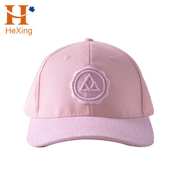 b4eb94d9df91c Guangdong Manufacturer Logo Custom Shiny Color Bling Baseball Caps For Women
