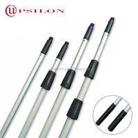 Adjustable aluminum telescopic window cleaning pole 3.5m