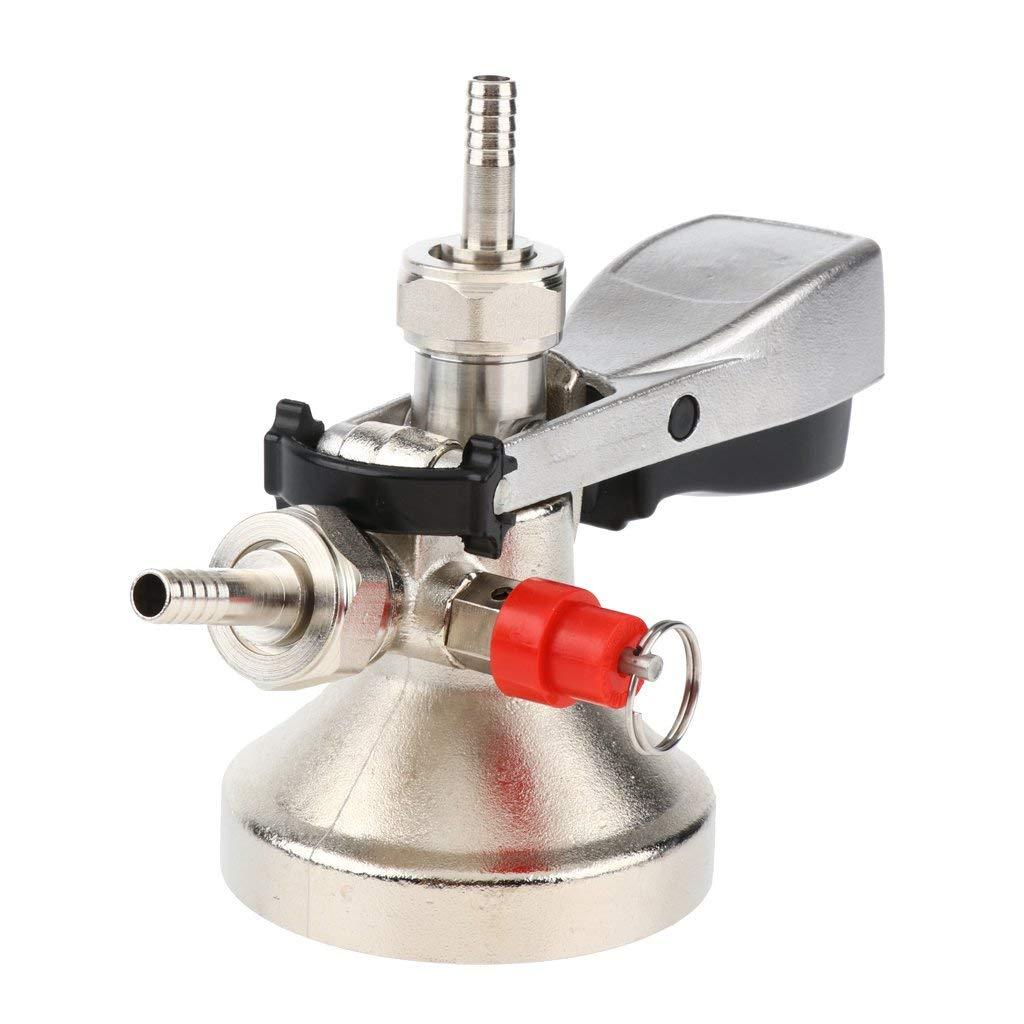 Baoblaze Stainless Steel - Beer Keg Coupler - G-Type - Draft Beer Tap - Beer Dispenser