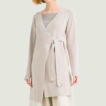 трикотаж женская мода вязаный кардиган ручной вязки шерсть свитера