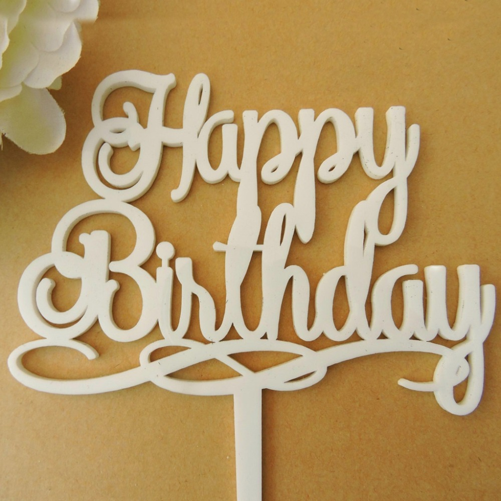 happy birthday cake topper happy birthday cake topper topper acr 237 lico bolo topper do 4711