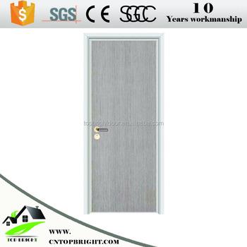 direct price soundproof simple bedroom ecological melamine wooden door - Soundproof Bedroom Door