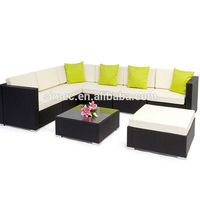Fashion design good price rattan outdoor furniture white space saving with hot sell market