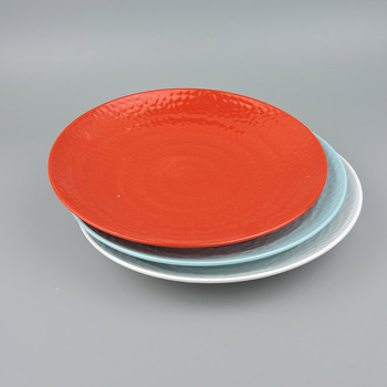 Round melamine plastic pizza plates with SGS approved & Round Melamine Plastic Pizza Plates With Sgs Approved - Buy Melamine ...