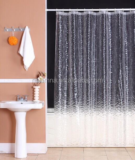 Peva/eva New Design Transparent Shower Curtain/home Goods/bathroom ...