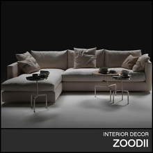 Good price modern living room furniture, small corner sofa, economic core sofa hot sale B106