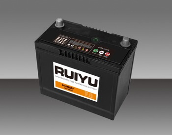 New Type Ruiyu Battery 12v45ah Lead Acid Global Import Car