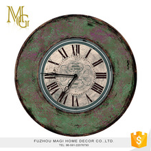 London style home decoration shabby chic wall clock design