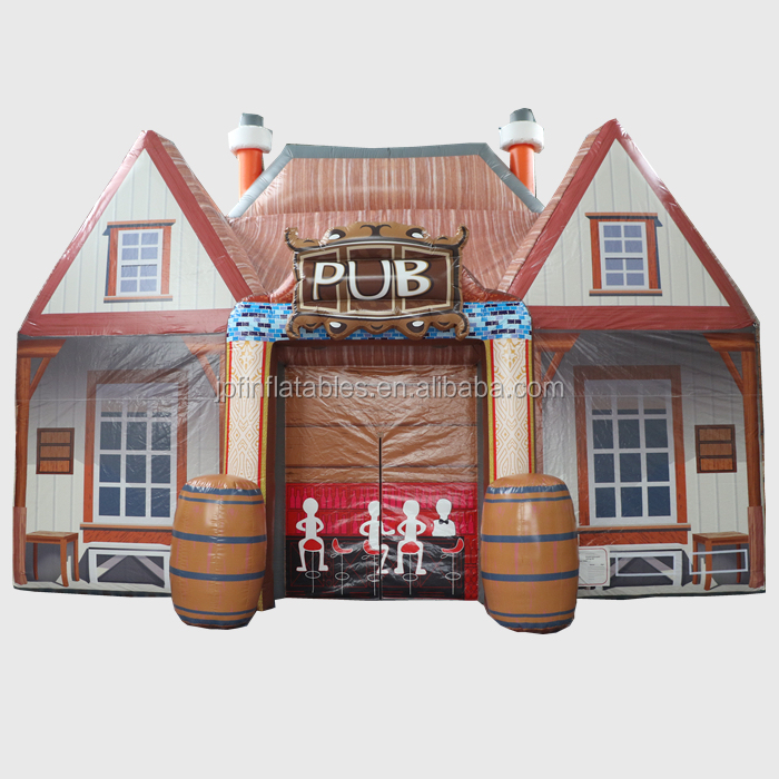 Portable Event bar decoration beer house disco dance inflatable pub bar house for sale