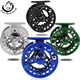 100% high quality aluminium alloy fly fishing reels