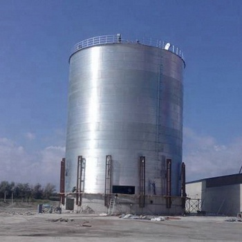 China manufacture price 5000 tons grain storage steel silo tank