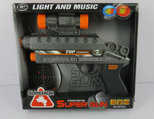 B/O VIBRATION GUN WITH SOUND AND FLASH