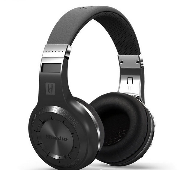 Bluedio H+ Powerful Bass Stereo <strong>Bluetooth</strong> V4.1 Headphones With FM Radio and TF Card Slot