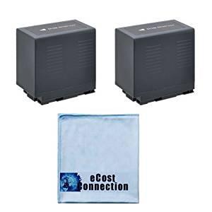 2 High-Capacity CGR-D54 6600mAh Li-Ion Camcorder Battery for Panasonic NV-DA1EG, NV-DA1EN, NV-DS7, NV-DS7NW, NV-DS9 , NV-DS12 , NV-DS12B , NV-DS12EG, NV-DS15, NV-DS15B, NV-DS15EG, NV-DS15ENC