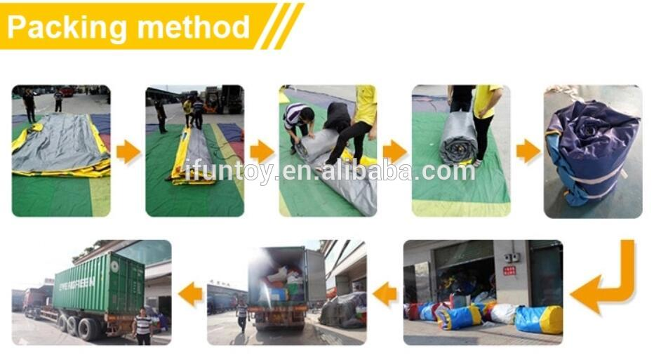 Inflatable Climbing Sticky Wall with Suit / Inflatable stick jumping wall for Kids