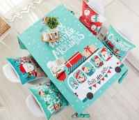 Best selling products in amazon Christmas home decoration gift table cloth