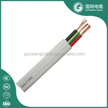 16 18 22 26awg Gauge Electric Wire Copper Electrical Flat Pvc Jack