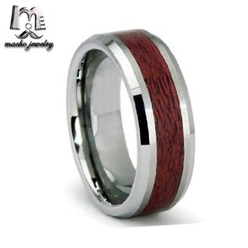 Tungston Carbide Wedding Rings.Macho Mens Wood Tungsten Rings Tungsten Carbide Wedding Rings With Wood Inlay Buy Mens Rings Wood Tungsten Rings Tungsten Carbide Wedding Rings