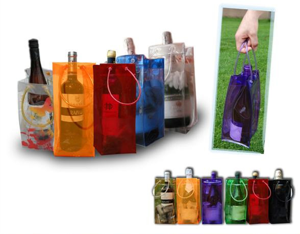 bottle pocket tote bags promotional jute pvc wine bag/wine bag for promotional(SD-PB-097)