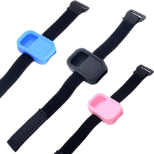 2014 new 7 colors hot silicone protective cover Slicone GoPro Hero3 +/3 of the Wi-Fi wireless remote control / elastic wristband